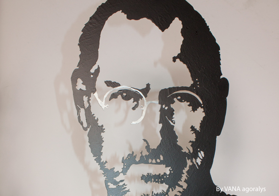 Steve Jobs by François